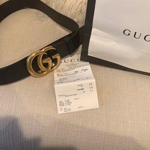 Gucci Authentic Belt 90